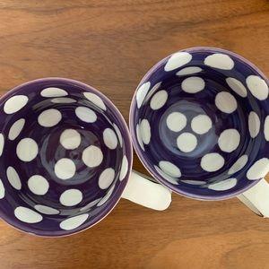 Anthropologie Kitchen - Pair of Molly Hatch ANTHROPOLOGIE Do Your Best Mug